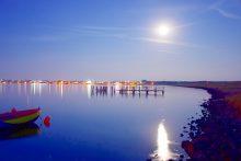 Abendstimmung in der Steenodder Bucht