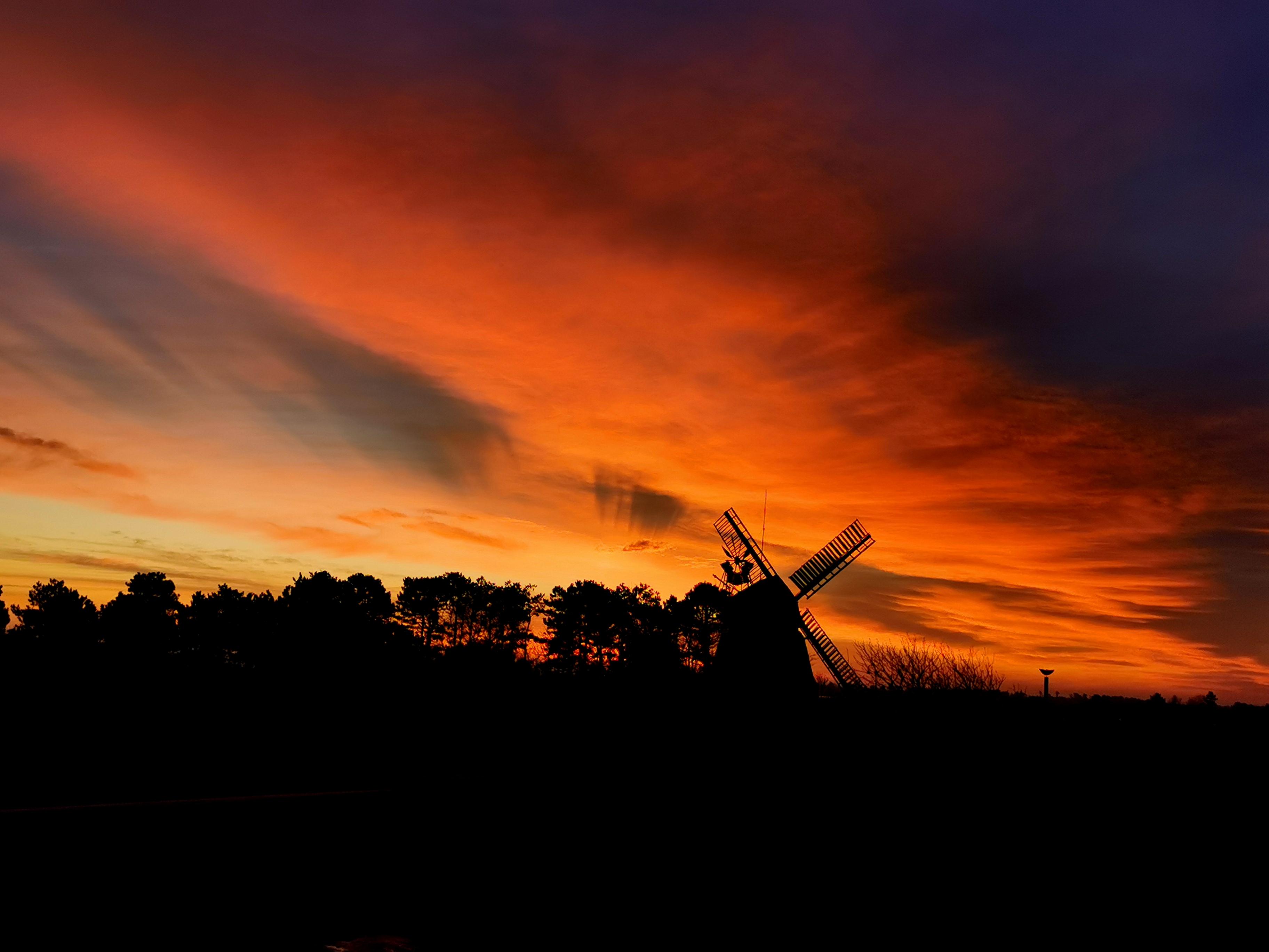 Sonnenaufgang Nebeler Mühle